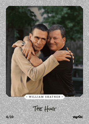 William Shatner Digital Trading Card NFT available on the WAX Blockchain