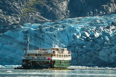 UnCruise Adventures 60-person passenger vessel the Wilderness Adventurer that will set sail in Alaska this season.