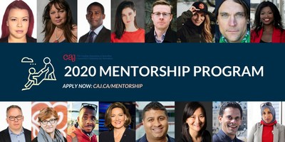 CAJ mentorship (CNW Group/Canadian Association of Journalists)