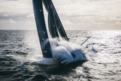 The Ocean Race Summits draw on the spirit and values of ocean racing to inspire and develop solutions for the restoration of ocean health. The 11th Hour Racing Team in full flight in the Atlantic. Copyright Amory Ross / 11th Hour Racing