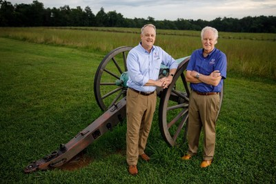 David N. Duncan, left, will take over the American Battlefield Trust presidency from 20-year veteran Jim Lighthizer, effective October 1, 2020.