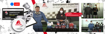 Axalta offers additional virtual training to its customers.