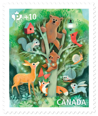 Community Foundation Stamp (CNW Group/Canada Post)