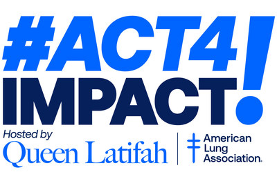 On September 26 tune in for #Act4Impact, a livestream fundraising benefit hosted by Queen Latifah. Funds raised will go towards the American Lung Association's efforts to defeat COVID-19 and decrease health disparities by supporting and safeguarding lung health, particularly in underserved communities.