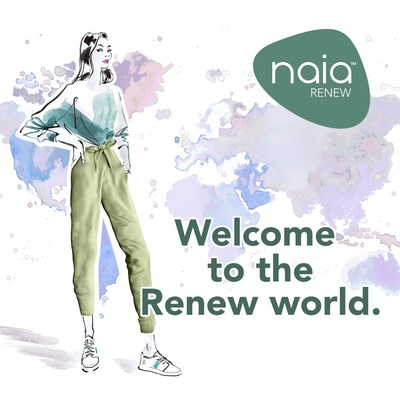 """""""Naia(TM) Renew enables a circular economy for the fashion industry and helps brands meet their eco-conscious goals,"""" said Ruth Farrell, global marketing director of textiles for Eastman. """"We're transforming what a fabric can be and do to meet the sustainability demands of our customers and to create a world where brands and consumers can be in fashion without compromising on quality and performance."""""""