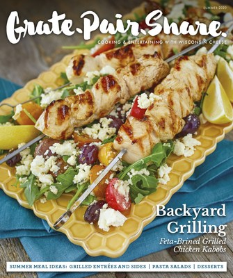 Pictured is the cover of the Summer 2020 issue of Grate.Pair.Share. magazine, which earned two gold awards, and three honorable mentions at Monday's Eddie & Ozzie Awards.