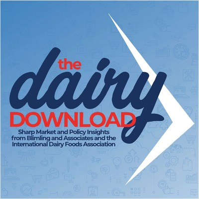 The Dairy Download is a 25-minute podcast presented by the International Dairy Foods Association and Blimling and Associates that covers dairy market news and offers fresh, witty guest commentary on the consumer, market and policy issues shaping the dairy industry.