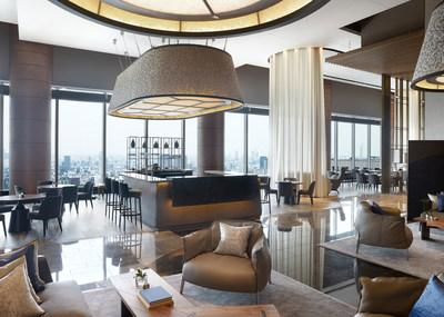 Sky-high views and Afternoon Tea at THE LOUNGE.