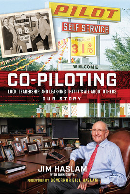 "Pilot Company Founder James ""Jim"" Haslam II has written a book titled ""Co-Piloting: Luck, Leadership, and Learning That It's All About Others"" that offers leadership lessons and insights on the history of Pilot Company and the people that helped build it. The book is available on August 25, 2020 at retail and online outlets, including select Pilot and Flying J Travel Centers."