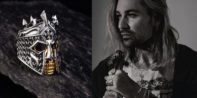 David Garrett is the global face of Rebel at heart and will showcase the collection for the coming year (PRNewsfoto/THOMAS SABO GmbH & Co.KG)