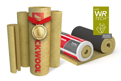 ROCKWOOL introduces ProRox Mat (Wrap) insulation now partnered with ProRox Pipe Sections to offer an award-winning WR-Tech water repellent system.