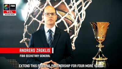 FIBA announced to extend cooperation with TCL for four more years