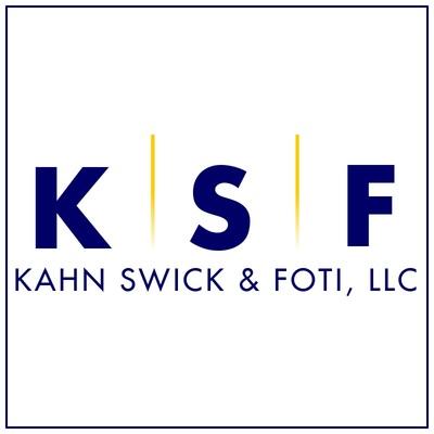 """Kahn Swick & Foti, LLC (""""KSF"""") - - not all law firms are created equal. Visit www.ksfcounsel.com to learn more about KSF. (PRNewsfoto/Kahn Swick & Foti, LLC)"""