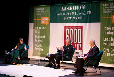 Today, Babson College hosted esteemed entrepreneur Arthur M. Blank '63, H'98, for two exclusive, live-streamed events to discuss values-based leadership.