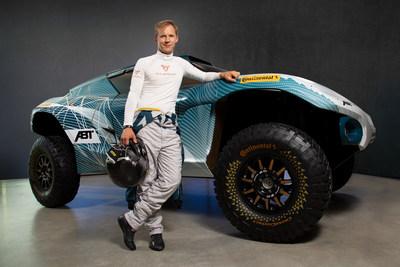 CUPRA e-ambassador Mattias Ekström will be the male driver of the brand in the Extreme E championship (PRNewsfoto/CUPRA)