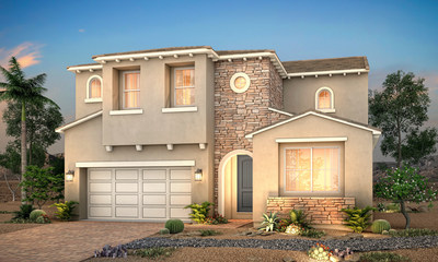 Two-story floor plan | Residence 3609 at Sanctuary at Rhodes Ranch | Century Communities