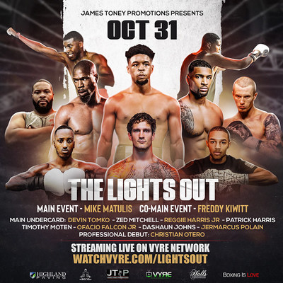 """""""Boxing with Lights Out"""" James Toney Promotions & Vyre Sports"""