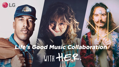 Life's Good Music Project with H.E.R. Winners