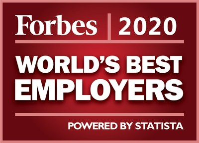 Forbes World's Best Employer logo (CNW Group/Manulife Financial Corporation)