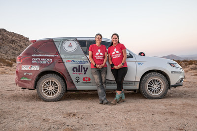 Mitsubishi Motors North America, Inc. supports Team Record the Journey in the 2020 Rebelle Rally.
