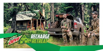 """MTN DEW LAUNCHES """"RECHARGE RETREAT."""""""