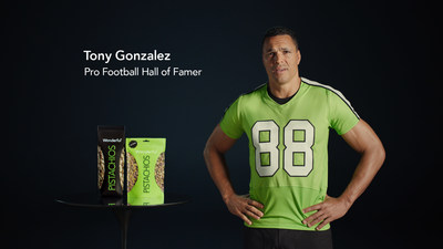 """Plant Protein is """"The Next Big Thing"""" in New Wonderful Pistachios Campaign Featuring Tony Gonzalez"""