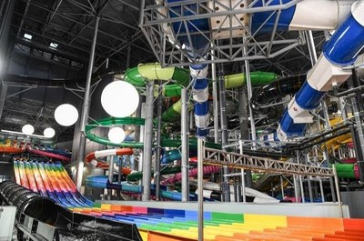 Polin Waterparks Receives WWA Leading Edge Award for The Europe's Largest Indoor Waterpark, Suntago Water World (PRNewsfoto/Polin Waterparks)
