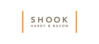 Global product liability leader Shook, Hardy & Bacon creates easy- to-read infographics of regulations and requirements for companies entering into complex industry of producing hand sanitizer. (PRNewsfoto/Shook, Hardy & Bacon L.L.P.)