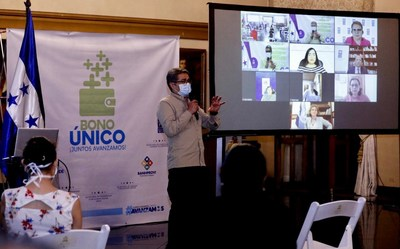 UNPD highlights Honduras social program (PRNewsfoto/The Government of the Republic of Honduras)