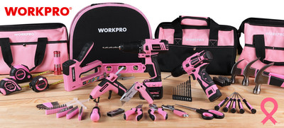 WORKPRO® Tools Pledges $15K in Partnership with National Breast Cancer Foundation, Inc.® (NBCF) through sales of eight different pink tool sets and gifts-in-kind through September 30, 2021.