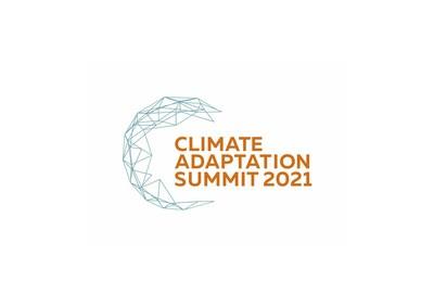 Climate Adaptation Summit 2021 logo (PRNewsfoto/The Global Center on Adaptation)
