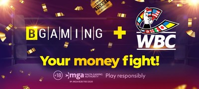 BGaming and WBC consider launching other projects to support the WBC Care foundation. (PRNewsfoto/BGaming)