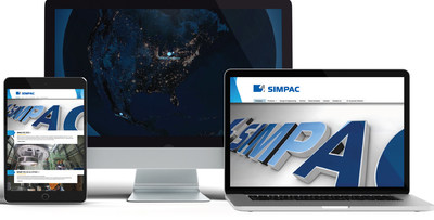 SIMPAC America's new website kicks off its rebranding towards a digital focus