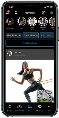 TeamUp Fitness App