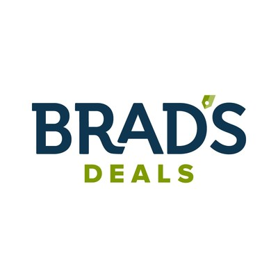 Brad's Deals Logo (PRNewsfoto/Brad's Deals)