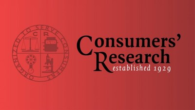 Consumers' Research (PRNewsfoto/Consumers' Research)