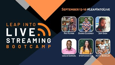 A Virtual Bootcamp For Everyone Ready to Take the Leap Into Live Video