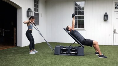 The new FITBENCH FREE accommodates multiple exercisers, is lightweight and easily transportable, and is ideal for home gyms or commercial applications.
