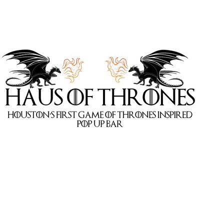 Haus Of Thrones (Game Of Thrones Inspired Pop Up Bar)