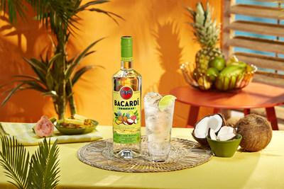 BACARDÍ Tropical Flavored Rum & Soda