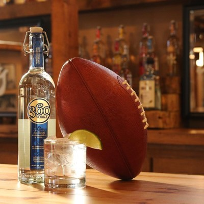 360 Vodka is Kansas City's hometown vodka and the Official Vodka of the Kansas City Chiefs.