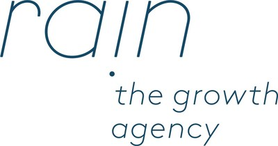 Rain the Growth Agency is a independent, full-service advertising agency cultivating transformational growth for DTC brands. (PRNewsfoto/Rain the Growth Agency)
