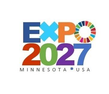Minnesota USA Expo 2027 logo