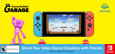 'Share your Video Game Creations with Friends'