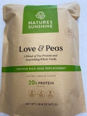 Nature's Sunshine of Lehi, Utah is announcing that it initiated a voluntarily recall of certain lots of its Love & Peas product in April 2021 after being notified by an ingredient supplier that an ingredient used in the manufacturing of the affected product lots may contain milk.