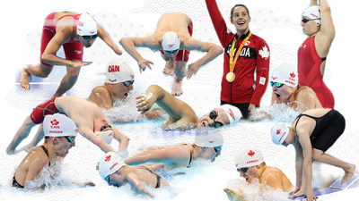 Nineteen Para swimmers will hit the starting blocks for Canada at the Tokyo 2020 Paralympic Games. (CNW Group/Canadian Paralympic Committee (Sponsorships))