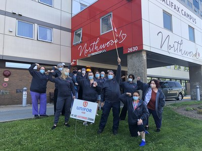 Northwood long-term care workers ratify tentative agreement (CNW Group/Unifor)