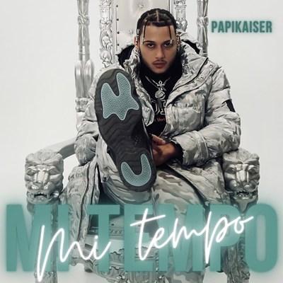 EP artwork for 'Mi Tiempo' Papikaiser's latest release