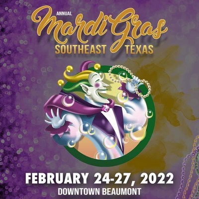 Save the Date for Mardi Gras 2022 in Beaumont, the Cajun Capital of Texas