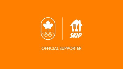 SkipTheDishes named the Official Food Delivery App Partner of the Canadian Olympic Committee ahead of the Tokyo 2020 Olympic Games (CNW Group/SkipTheDishes)